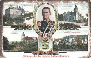 Schlösser des Herzogtums Sachsen-Altenburg: Altenburg, Hummelshain, Eisenberg, Fröhliche Wiederkunft