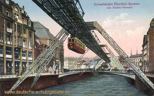 Schwebebahn Elberfeld-Barmen, Am Thalia-Theater