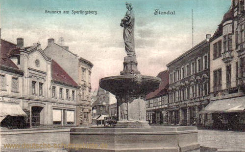 Stendal, Brunnen am Sperlingsberg