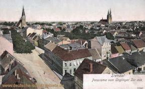 Stendal, Panorama vom Uenglinger Tor aus
