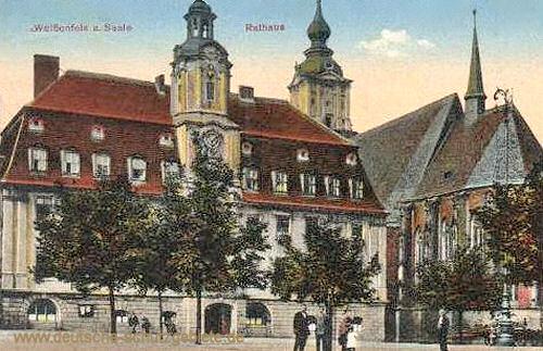 Weißenfels, Rathaus