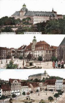 Weißenfels, Schloss Augustusburg, Rathaus, Markt