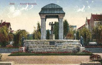 Zeitz, Arnold-Brunnen