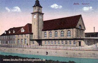 Zeitz, Bahnhof