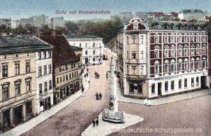 Zeitz, Bismarcksäule