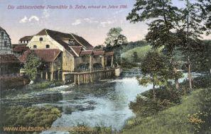 Zeitz, Die althistorische Neumühle bei Zeitz, erbaut im Jahre 1700