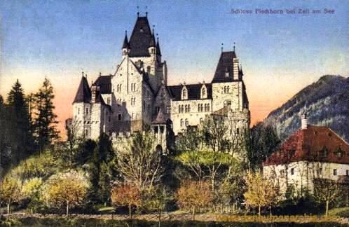 Schloss Fischhorn bei Zell am See