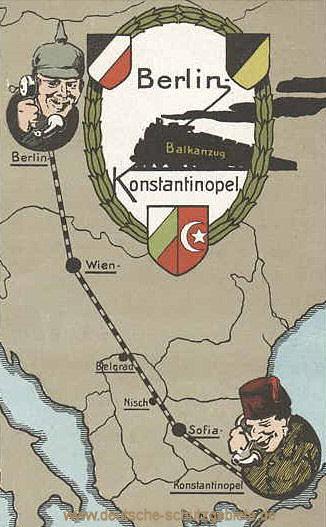 Balkanzug Berlin-Konstantinopel (Bagdadbahn)