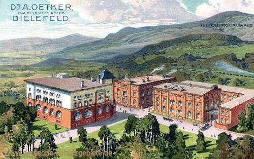 Bielefeld, Backpulverfabrik Dr. A. Oetker