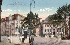 Bielefeld, Jahnplatz und Barmer Bank