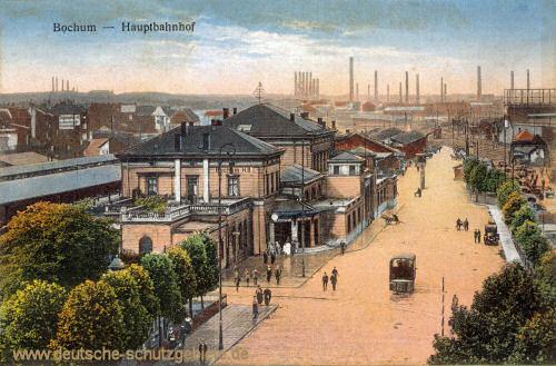 Bochum, Hauptbahnhof