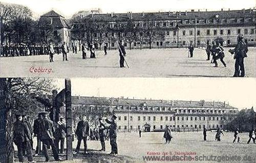 Coburg, Kaserne des 6 Thüringischen Infanterie-Regiments Nr. 95