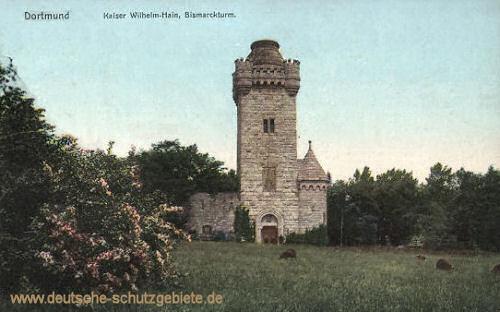 Dortmund, Kaiser Wilhelm-Hain, Bismarckturm