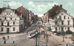 Dortmund, Körnerplatz, Rheinische-Straße