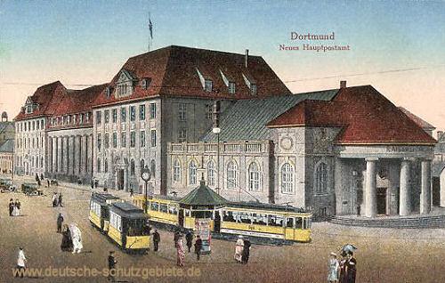 Dortmund, Neues Hauptpostamt