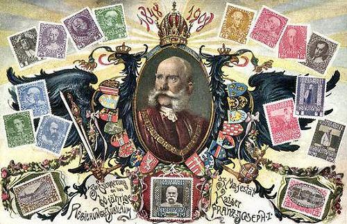 Franz Joseph I. - 60 jährige Regierungsjubiläum 1908