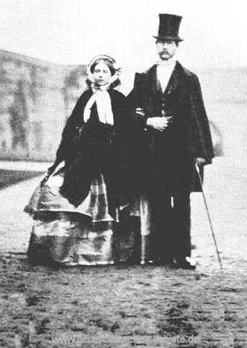 Friedrich Wilhelm und Victoria, 1858