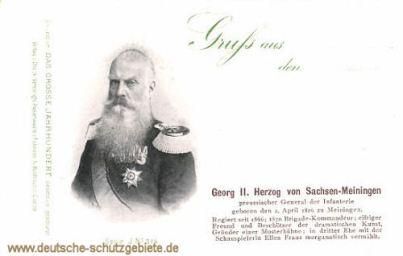 Georg II. Herzog von Sachsen-Meiningen