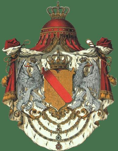Großherzogtum Baden, Staatswappen