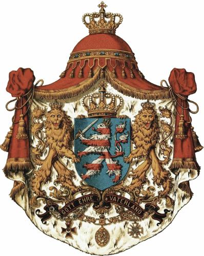 Großherzogtum Hessen, Staatswappen