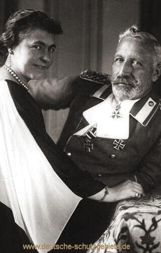 Hermine und Kaiser Wilhelm II.