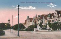 Koblenz, Artilleriedenkmal und Kaiser Wilhelm-Ring