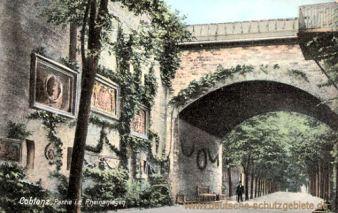Koblenz, Partie in den Rheinanlagen