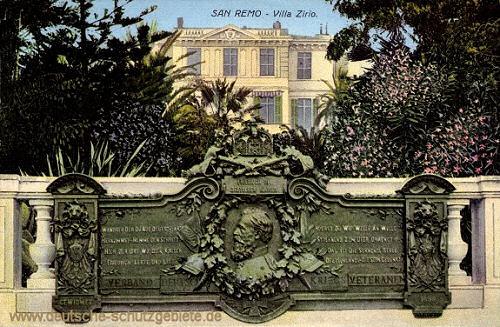 San Remo Villa Zirio