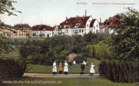 Solingen, Böcker-Anlagen und Beckmannstraße