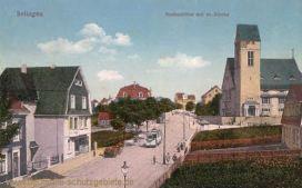 Solingen, Krahenhöhe mit evangelischer Kirche