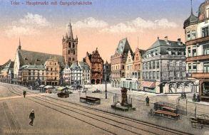 Trier, Hauptmarkt und Gangolphskirche