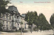 Trier, Provinzial-Museum mit Ostallee