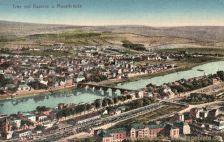 Trier mit Kaserne und Moselbrücke