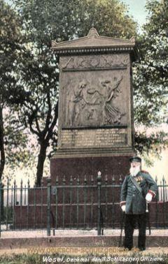 Wesel, Denkmal der 11 Schillschen Offiziere