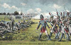 Wesel, Erschießung der 11 Schillschen Offiziere 16.Sep.1809
