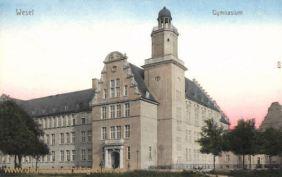 Wesel, Gymnasium