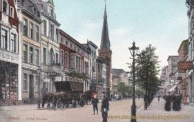 Wesel, Hohe Straße