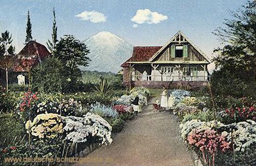Deutsch-Ost-Afrika, Masama, Deutsche Siedler am Kilimandscharo