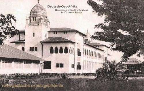 Deutsch-Ost-Afrika, Gouvernements-Krankenhaus in Dar-es-Salaam