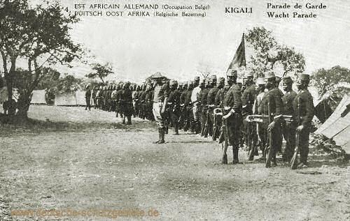 Deutsch-Ostafrika, Kigali Wacht Parade