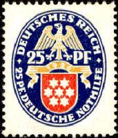Deutsches Reich 1926 Thüringen