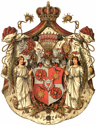 Fürstentum Schaumburg-Lippe, Großes Staatswappen