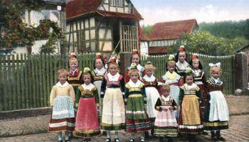 Hessische Tracht, Dorfjugend