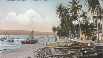 Deutsch-Ost-Afrika, Strand in Lindi