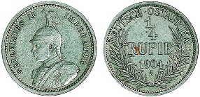 1/4 Rupie (1904)