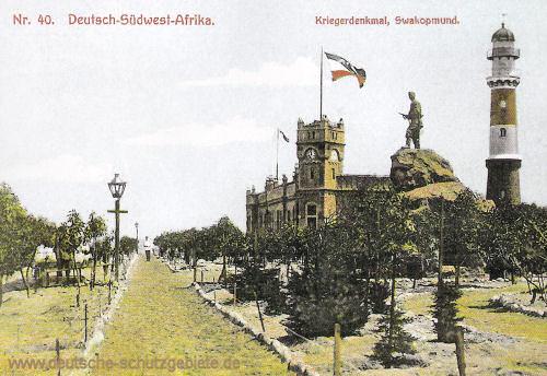 Deutsch-Südwest-Afrika, Kriegerdenkmal Swakopmund