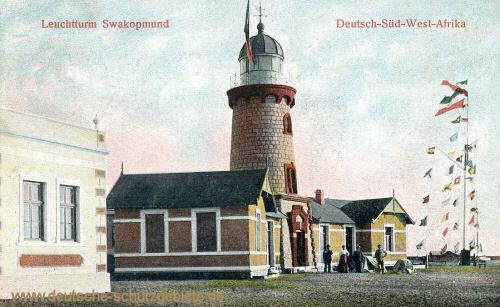 Deutsch-Südwest-Afrika, Leuchtturm Swakopmund