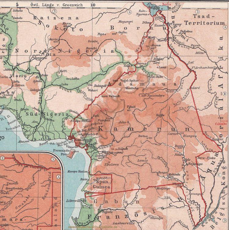 Kamerun 1914