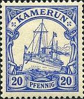 Kamerun 20 Pfennig 1900