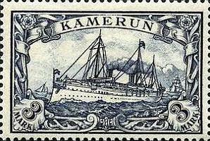 Kamerun 3 Mark, 1900